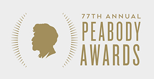 77th Annual Peabody Awards Logo, George Foster Peabody profile