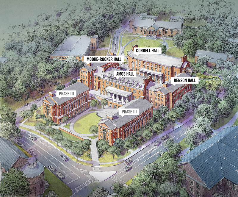 Artist rendering of the Terry College Business Learning Community