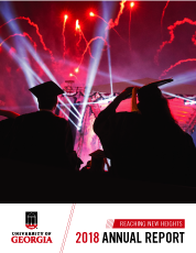 Cover of 2018 President's Annual Report