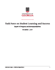 Task Force Report Cover
