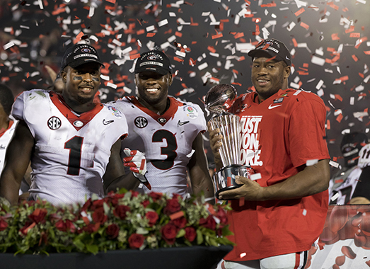 UGA Rose Bowl Victory