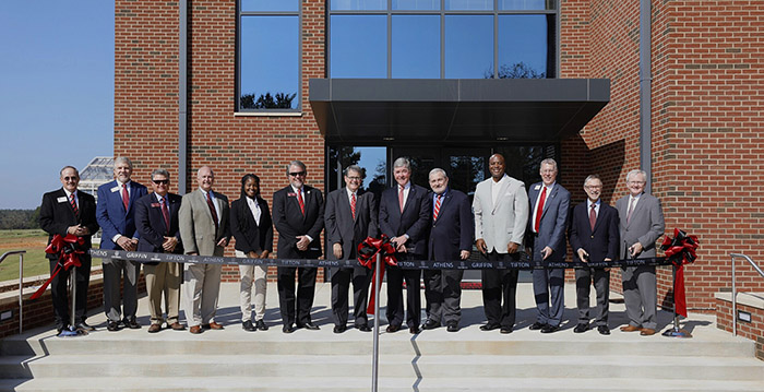 Turfgrass Ribbon Cutting